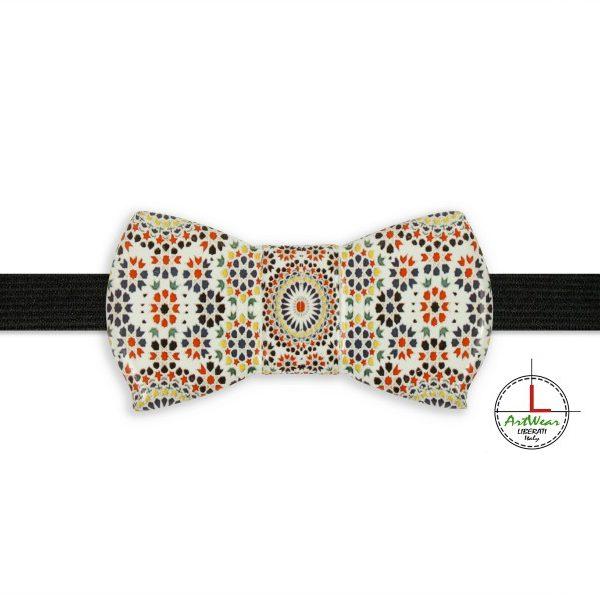 Papillon in ceramica modello Romantico decoro Maiolic di Ceramiche Liberati