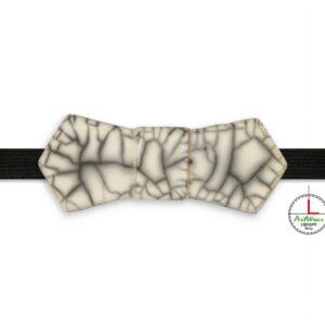 Papillon in ceramica unisex modello Evo tecnica raku di Ceramiche Liberati