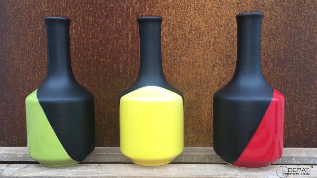 Bottiglie in ceramica per l'olio d'oliva_blog sulla ceramica artigianale