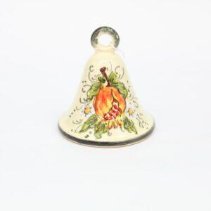 Campanella in ceramica melograno Ceramiche Liberati
