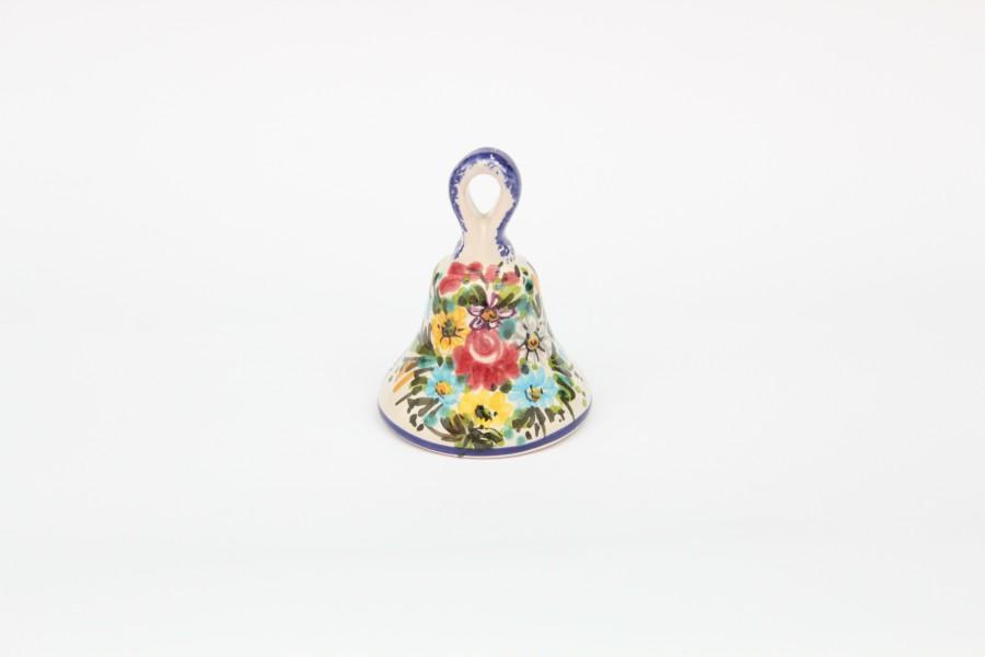 Magnete campanella con Fioraccio dipinto a mano