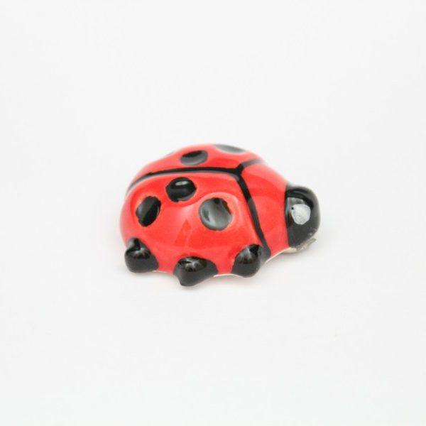 Magnete da frigo Coccinella portafortuna
