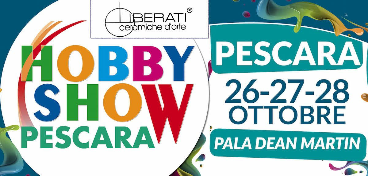 Corsi di ceramica a Hobby Show Pescara