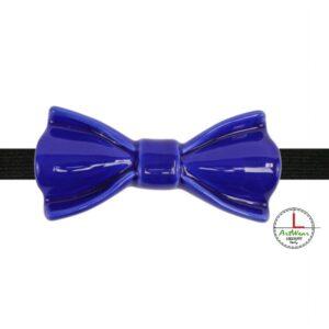 Papillon in ceramica elegante modello Narciso colore Blu zoom, Ceramiche Liberati