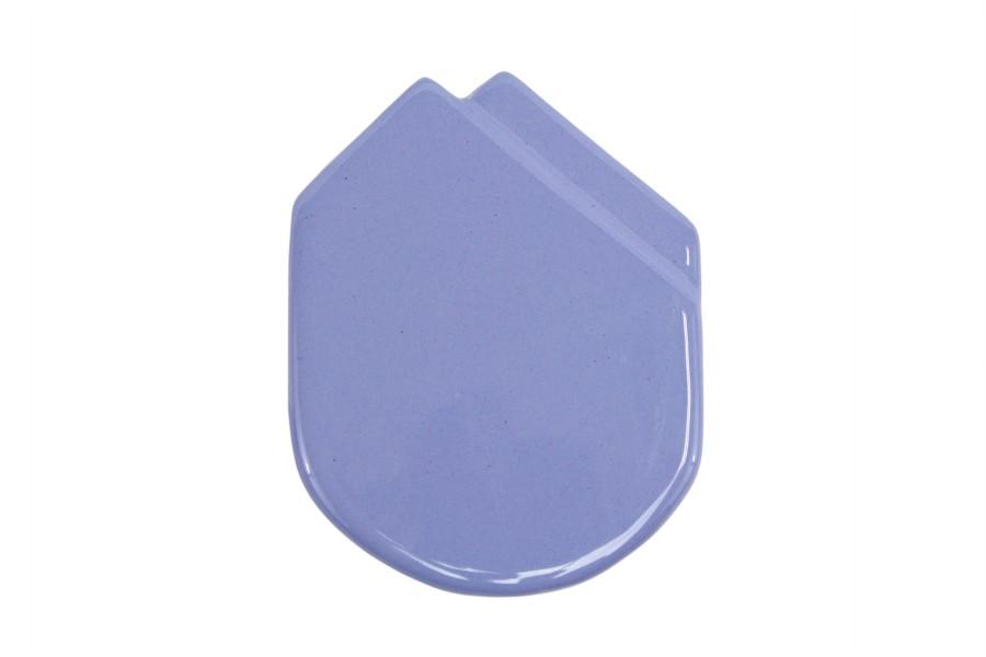 Fazzolettino in ceramica da taschino modello Montecarlo colore Azzurro, Ceramiche Liberati